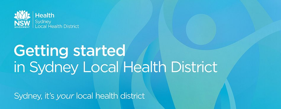 Getting Started in Sydney Local Health District