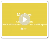 My Day - Craig, Medical Records Officer