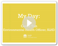 My Day - Geoff, Environmental Health Officer