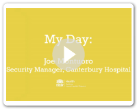 My Day - Joe, Security Manager