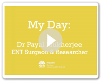 My Day - Payal, ENT surgeon & researcher