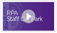 RPA Staff Car Park now open