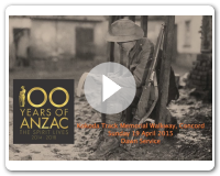 Anzac Day at Concord 2015