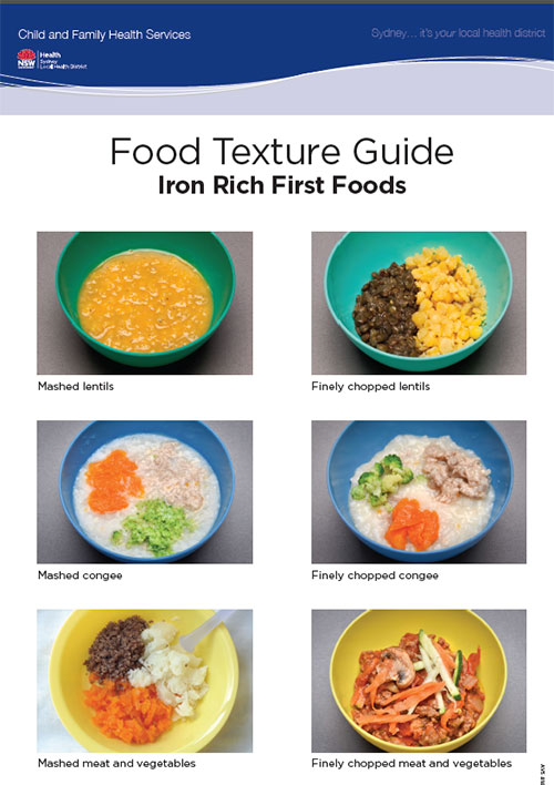 Healthy Families Healthy Children Food Texture Guide