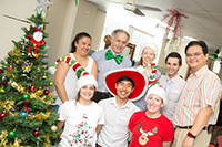 December 2015 - STRONG Clinic Christmas Party, Balmain Hospital