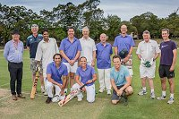 February 2018 - Annual AMO v JMO cricket match