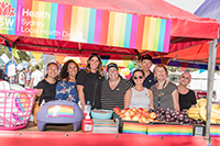February 2018 - Sydney Local Health District stall at Fair Day