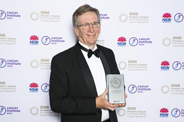 State award for leading cancer researcher