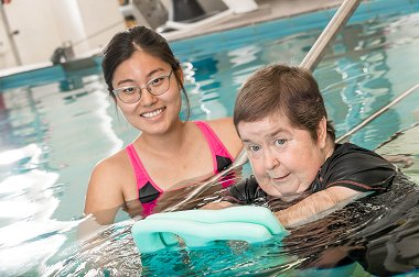 Hydrotherapy the ticket to mobility for Kerri