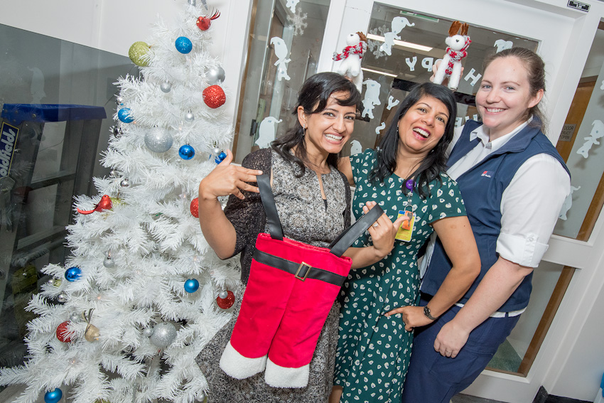 Hospitals all decked out for the festive season