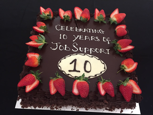 Celebrating 10 years of Job Support