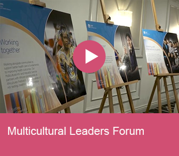 Multicultural Leaders Forum