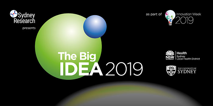 Sydney Research - The Big Idea 2019